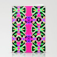 Neon Vibrations Stationery Cards