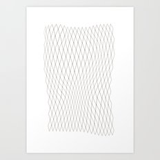 Fish net Art Print