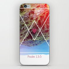 Psalms 13:5 iPhone & iPod Skin