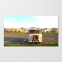 I Left My Heart In San F… Canvas Print