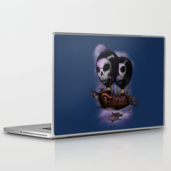 Hot Air Pirates Laptop & iPad Skin