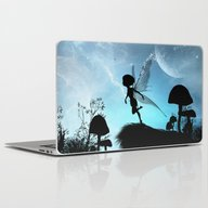 Fairy Silhouette Laptop & iPad Skin