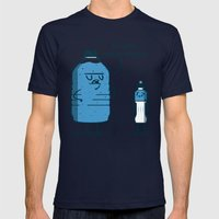 Water Weight Mens Fitted Tee Navy SMALL