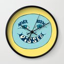 Never Been Pissed Wall Clock