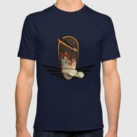Welcome In 2012 Mens Fitted Tee Navy SMALL
