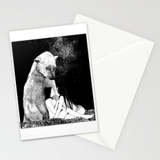 asc 257 - Le grand frère (The elder brother) - Night version Stationery Cards