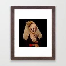 VANITAS V Framed Art Print