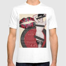 Star Kist Mens Fitted Tee White SMALL