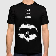 Bad year 2016 Mens Fitted Tee Black SMALL