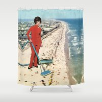 Dry Cleaning Shower Curtain