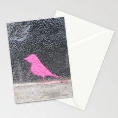 Pink Bird I Stationery Cards