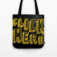 Click Here Tote Bag