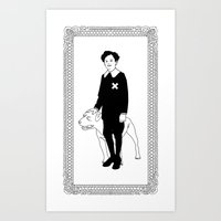 Dog Dick Web Site Art Print