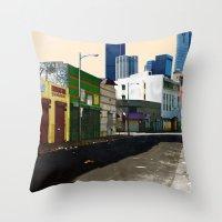 Urban Brutality  Throw Pillow