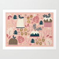 Holiday Delights Art Print