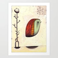 Suspended Animation Art Print