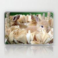 Bunnies In A Basket Laptop & iPad Skin