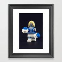 Gimme A Z! Framed Art Print