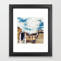 The (Old-New) Dream City  Framed Art Print