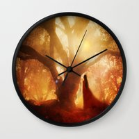 Autumn Song.. Wall Clock