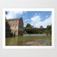 bollinger mill 2 Art Print