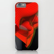 Waved red surface iPhone 6 Slim Case