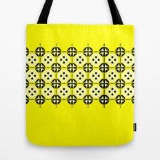 Yellow Fru Fru Tote Bag