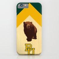 Baylor University - BU logo with bear iPhone 6 Slim Case