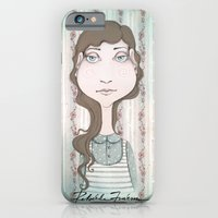 iPhone Cases featuring Little Andrea by Rebekka Ivacson