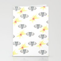 INDIAN WALLPAPER Stationery Cards