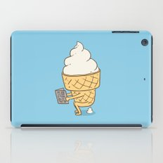 Everyone Poops (Blue) iPad Case