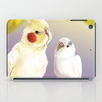 Budgie and Cockatiel iPad Case