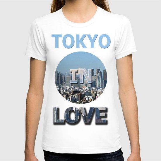 tokyo in love T-shirt