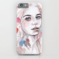 Singing of passion, watercolor iPhone 6 Slim Case
