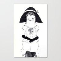 Srta. Asunción Canvas Print