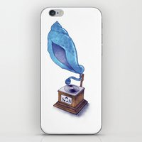 Sounds From Nature (colo… iPhone & iPod Skin