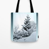 Natures Christmas Tree Tote Bag