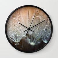 Crystal Clear.... Wall Clock