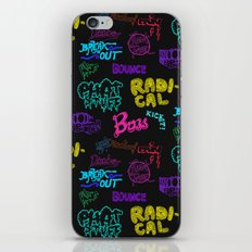 Fresh Type Day - Color Edition iPhone & iPod Skin