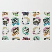 Cats & Bowties Rug