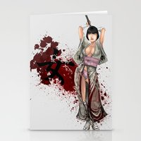 Kunoichi 1 of 4 Stationery Cards