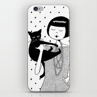 The Cat's Meow iPhone & iPod Skin