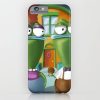 iPhone & iPod Case featuring American Bighead by Mike Oncley