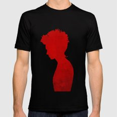 Girl with the Dragon Tattoo SMALL Black Mens Fitted Tee