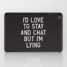 Chat iPad Case