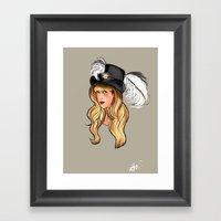 Mama Stevie Framed Art Print