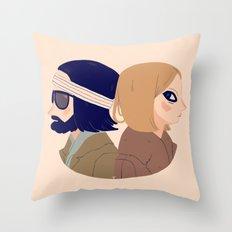 Margot and Richie Throw Pillow