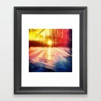 Take The Prismatic Path … Framed Art Print
