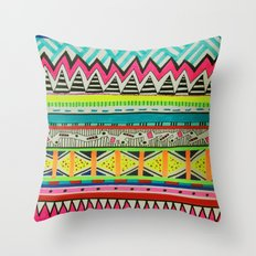 VIVID EYOTA Throw Pillow