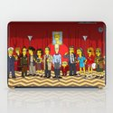 Twin Peaks Simpsonized iPad Case